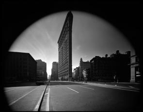 USA. New York City. Flat Iron Building. 1969.Elliott Erwitt