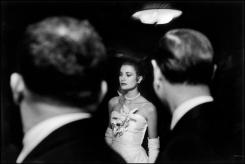 USA. New York City. January 1956. The engagement party of Grace KELLY and Prince RAINIER of Monaco at the Waldorf-Astoria hotel. Elliott Erwitt