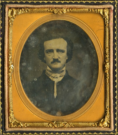 Edgar Allan Poe. Daguerrotipo por Mathew B. Brady, 1848.
