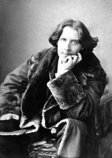 Oscar Wilde. Napoleón Sarony, 1882