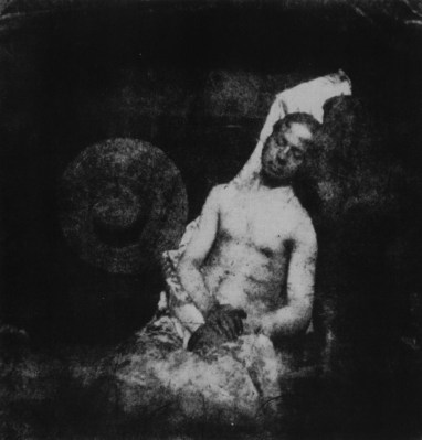 El Ahogado. Hippolyte Bayard. 1840
