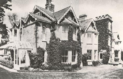 Dimbola Lodge, finca donde Julia Margaret Cameron realizó la mayor parte de sus fotografías.