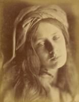 """Julia Margaret Cameron. """"Beatrice"""" (1866)"""