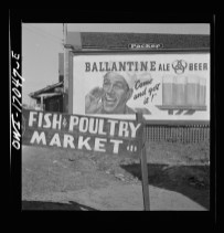 Daytona Beach, Florida. Sign in the Negro section. 1943