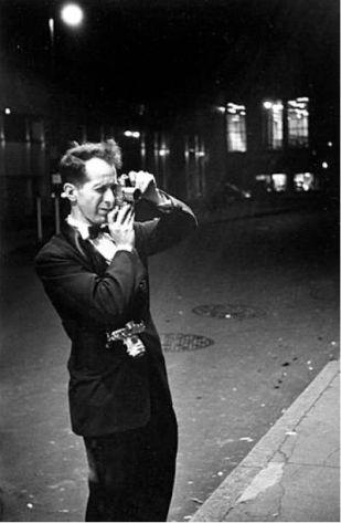 Robert Frank con su Leica