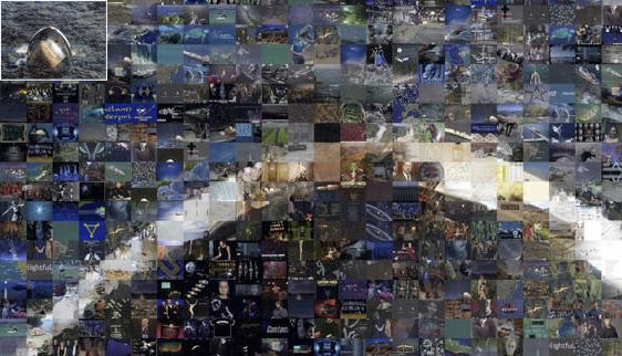 Prestige, Googlegrama. Joan Fontcuberta