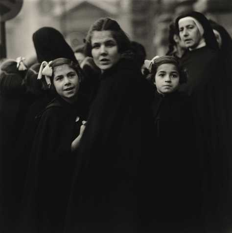 Nuns and their Charges, Italy, 1952