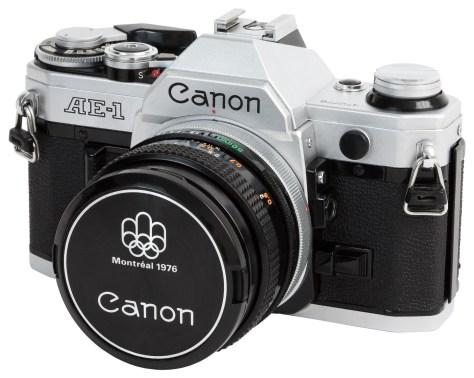 Aunque análoga, la Canon AE-1 era una cámara totalmente electrónica y automatizada.
