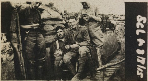 snapshot-of-british-soldiers-in-a-trench