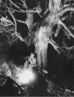 Baltermants_hunters_by_the_fire_1956
