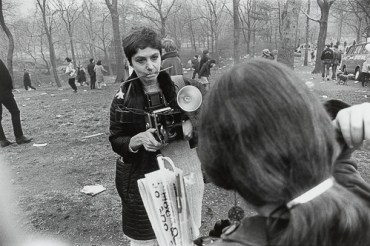 Garry_Winogrand_Diane Arbus, Love-In, Central Park, New York City from the portfolio Big Shots1969_96