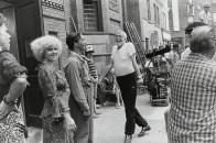 John Huston, %22Annie%22 Set, Burbank from the portfolio Big Shots1981_Garry_Winogrand_PR_Politics_Bigshots_John Huston, %22Annie%22 Set, Burbank from the portfolio Big Shots1981