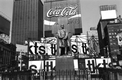 Lee Friedlander. New York City, 1974