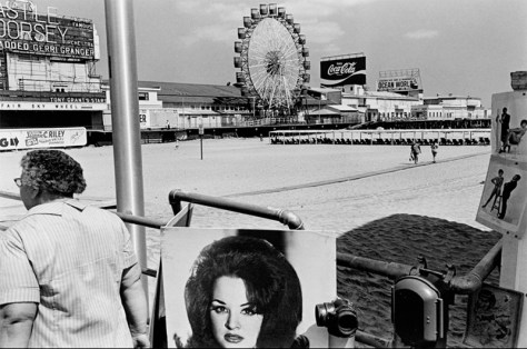 Lee Friedlander. Atlantic City, N.J., 1971