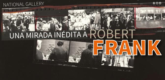 """Robert Frank disponible en línea, gracias a la """"National Gallery"""""""