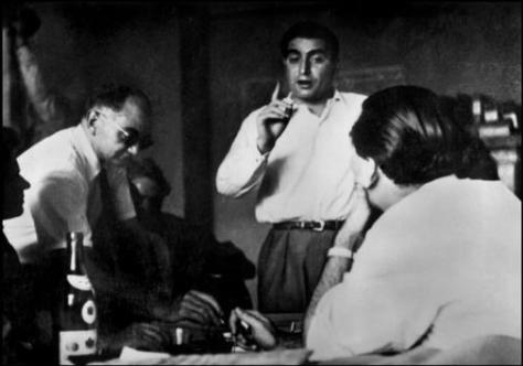 Paris, 1947. Chim, Capa y Bischof.
