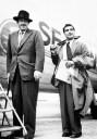 Robert Capa con John Steinbeck