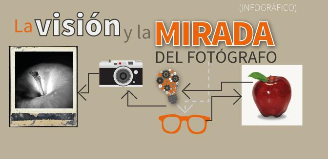La visión y la mirada del fotógrafo (Infográfico)