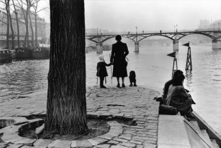 1 arrondissement. Ile de la Cité. El Pont des Arts bridge visto desde Vert-Galant