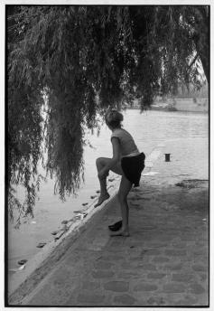 Paris. Plaza du Vert-Galant. 1955.