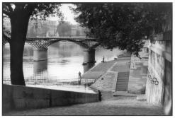 Paris. 1955. The Pont des Arts