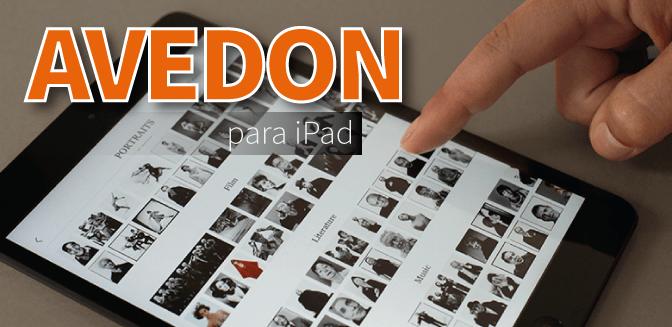 Richard Avedon para iPad