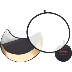 Raya 5-in-1 Collapsible Reflector Disc (42