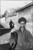 CHINA. Pekín. Diciembre de 1948. Un eunuco de la corte imperial de la última dinastía.