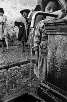 PERU. Pisac. 1960. Indians arriving from their village for Sunday morning mass and market.