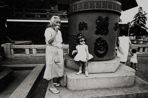 Sensoji-Temple, Taito-ku, August 20, 1965