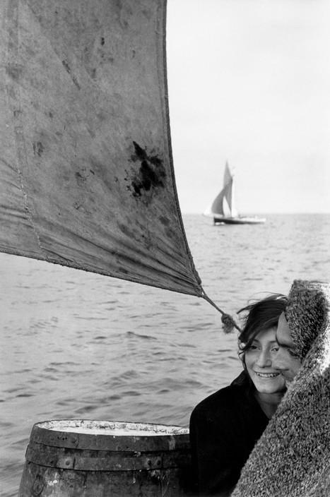 Sergio Larrain, Entre la isla de Chiloe y el Puerto Montt, 1957