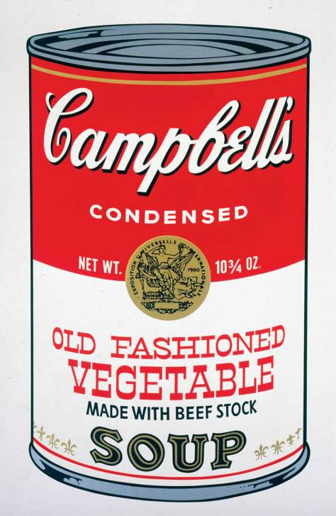 Andy Warhol, Campbell's Soup II. (1969)
