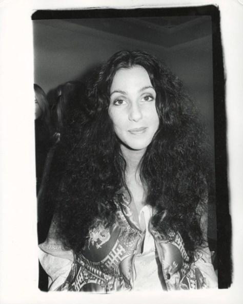 Andy Warhol. Cher.