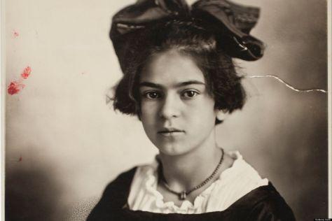 Fria Kahlo a los 10 años
