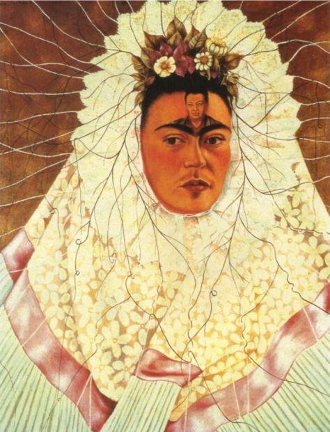 Self Portrait as a Tehuana, 1943 by Frida Kahlo
