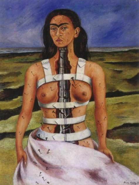 The Broken Column, 1944 by Frida Kahlo