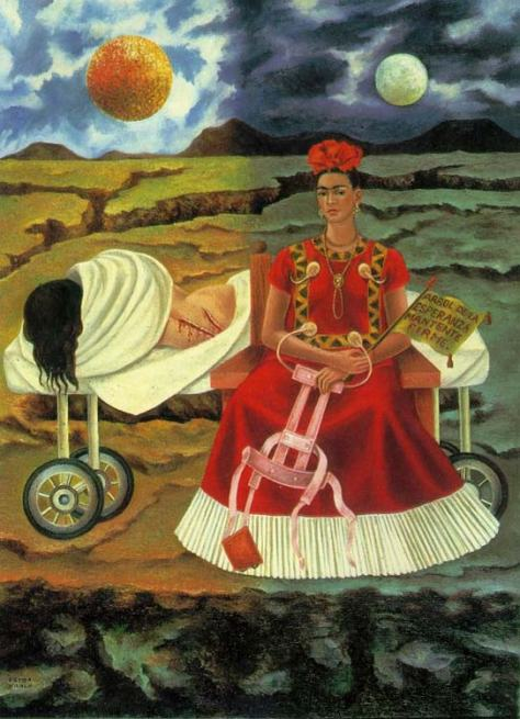 Tree of Hope, Keep Firm, 1946 by Frida Kahlo