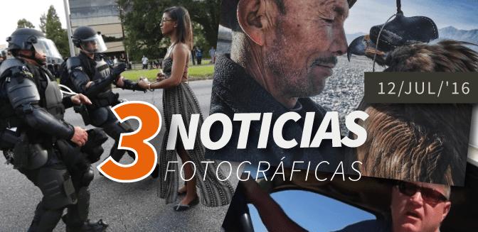 3 noticias fotográficas: 12/JUL/2016