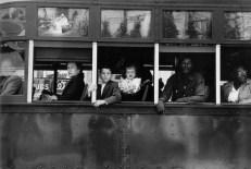 Robert Frank. Tranvía. Nueva Orleans.