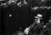 Graduación en Yale, New Haven Green, New Haven, Connecticut.