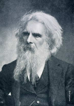 A photograph of Eadweard Muybridge, found on nucius.org
