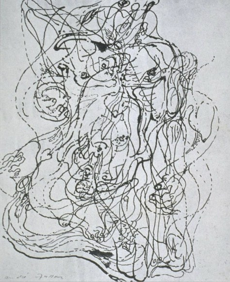 andre-masson-automatic-drawing-1