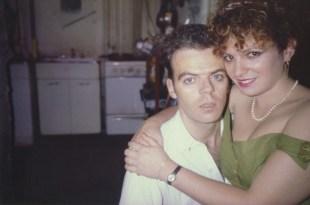 Nan en la vuelta con Brian, cumpleaños Nan. New York City. 1981
