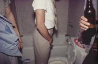 Jóvenes en el baño. New York City, 1982