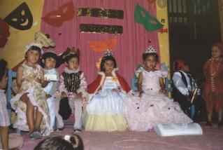 La reina del carnaval. Mérida, Mexico. 1982