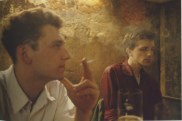 Dieter y Wolfgang en el O-Bar. berlín Occidental, 1984