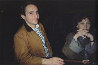 David y Butch lloran en Tin Pan Alley. New York City. 1981