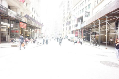 Broad/Wall St, high exposure