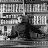 Shop assistant, Orlando West, 1972