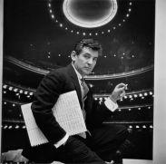 Gordon Parks. Retrato de Leonard Bernstein